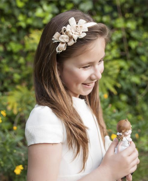 Diadema margaritas flores en el pelo - Diademas de flores para nina ...